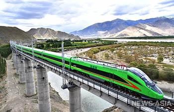 Открытие железной дороги Лхаса-Линьчжи – большой скачок в инфраструктурном строительстве в Тибете