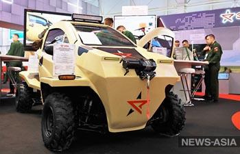 Для российской армии разработали электромобили «Эра»