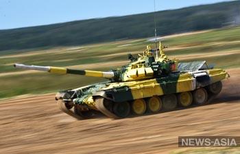 Кыргызские танкисты стали лучшими на танковом биатлоне в Алабино