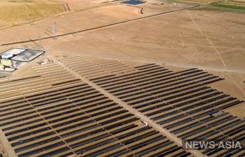 Узбекистан и ОАЭ построили первую солнечную фотоэлектрическую станцию