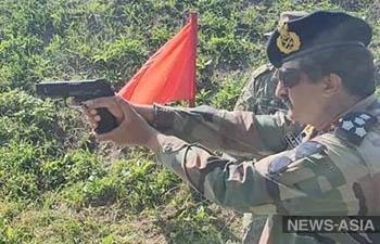 Разведчики из Индии приняли участие в конкурсе «Отличники войсковой разведки»