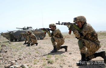 Казахстан, Россия и Кыргызстан начинают военные учения «Рубеж-2021» без Таджикистана