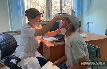 В Бишкеке проходит широкомасштабная акция по вакцинации населения