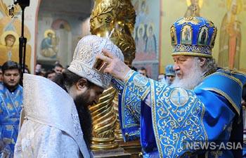В Москве состоялось рукоположение епископа Бишкекского и Киргизского Феодосия