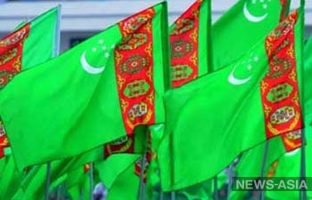 Туркменский флаг попал в книгу рекордов Гиннеса за свои гигантские размеры