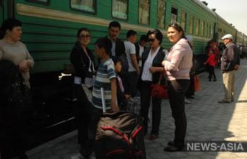 Киргизские журналисты провели железнодорожный рейд по маршруту «Бишкек-Москва»