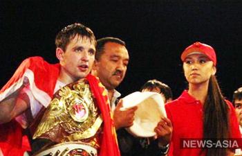 Киргизстанец Алексей Федосеев завоевал титул чемпиона мира по кикбоксингу