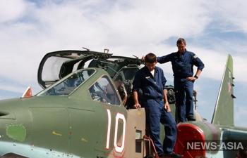 Летчики российской авиабазы «Кант» в Киргизии отметили вековой юбилей ВВС РФ