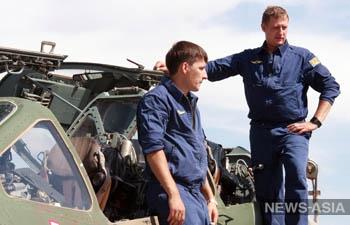 Российские летчики с воздуха уничтожили вооруженных боевиков в Киргизии