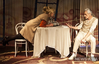 Премьера итальянской комедии «Свободный брак» состоялась в бишкекском Русском драмтеатре