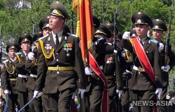 Гвардейцы-фрунзенцы отметили 95-летие бригады