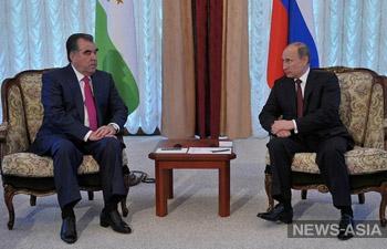 Владимир Путин недоволен снижением товарооборота с Таджикистаном