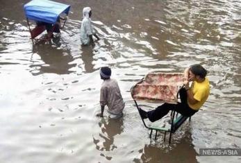 Остров Хайнань затопило