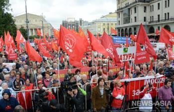 Коммунисты намерены добиваться отставки правительства митингами по всей России