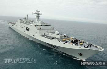 Китай отправил военные корабли к берегам Сирии