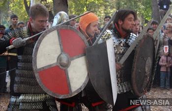 В Киргизии прошёл второй фестиваль исторического фехтования