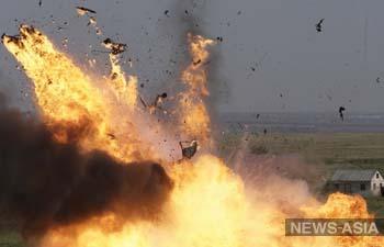 На северо-западе Китая прогремели два взрыва