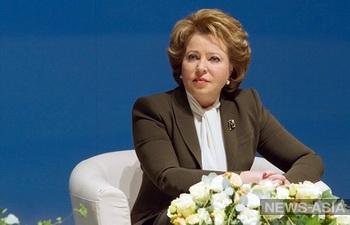 Валентина Матвиенко призвала к прекращению огня на Украине