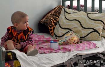В детском отделении Национального онкоцентра отметили День ребёнка