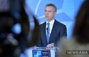 НАТО просит Россию не помогать ополченцам юго-востока Украины