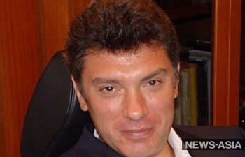 Киргизстанцы почтили память Бориса Немцова у здания российского посольства