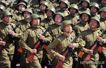 Казахстан провёл Парад Победы