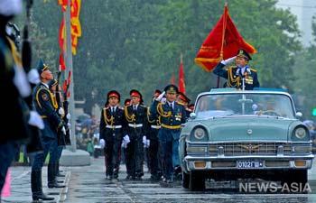 Киргизия отпраздновала 70-летие Победы в ВОВ