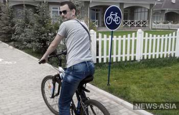 В Бишкеке появились первые перехватывающие точки велопроката