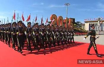В Китае начался масштабный военный парад, приуроченный к 70-летию победы во Второй мировой войне