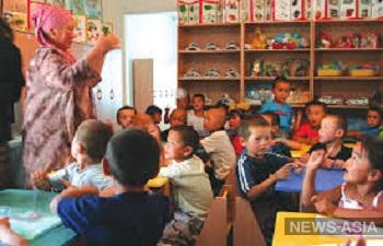В Киргизии вместо муниципальных детских садов строят общинные