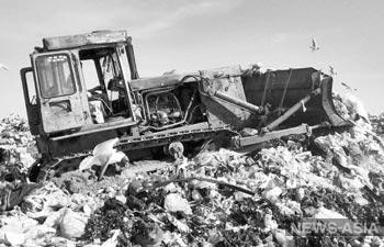 Кто живёт и работает на мусорном полигоне Бишкека?