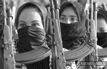 В Киргизии растёт число женщин-экстремисток