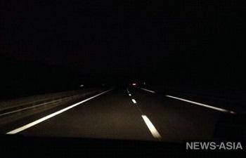 На автодороге Бишкек - аэропорт «Манас» два месяца будет отключено освещение