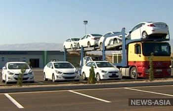В Туркменистане определились с пошлинами на ввоз авто