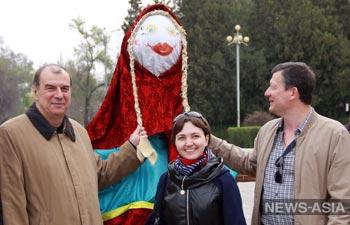 В Киргизии проводили Масленицу