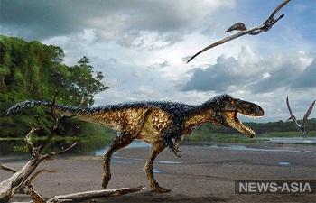 В Узбекистане нашли недостающее звено эволюции тираннозавра