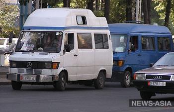 Бишкекский маршруточник протаранил автомобиль принца Рахима Ага Хана