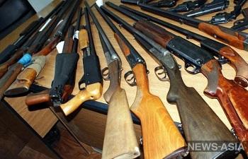 Перед саммитом ШОС в Узбекистане у охотников изъяли ружья