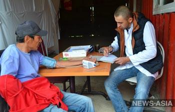 Врачи КРСУ провели обследование и лечение жителей высокогорья