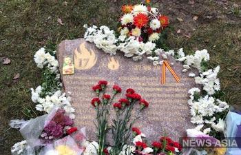 В Бишкеке появилась аллея памяти в честь погибших в московской типографии
