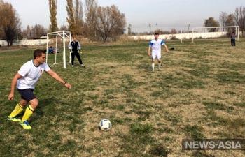 Товарищеский матч с военными авиабазы ОДКБ «Кант»