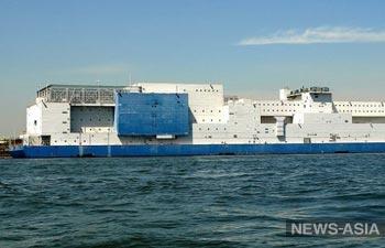 В Китае начали строительство первой АЭС на воде