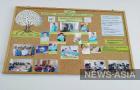 Бишкекская команда проекта  «Оказание  паллиативной помощи на дому». Их всего четверо - врач-онколог  и медсестры.