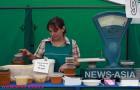 Продажа меда на ярмарке шла полным ходом