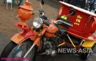Тема чайного пути не обошла стороной и мотоциклетный завод!
