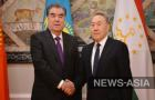 До начала саммита с визитом в РК прибыл Эмомали Рахмон, президент Таджикистана - второй по товарообороту страны-партнера Казахстана.