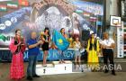 В «абсолюте» среди женщин победу одержала спортсменка из Казахстана Анастасия Онищенко.