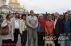 Участники инфотура с мэром города Невьянск