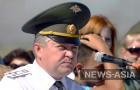 Командующий базой ОДКБ «Кант» Олег Анатольевич Молостов поздравляет личный состав с праздником