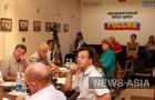 Участники заседания клуба «Кыргызстан XXI век»